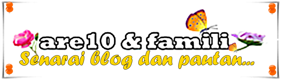 senarai blog dan pautan