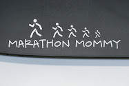 Marathon Mommy Car Decals