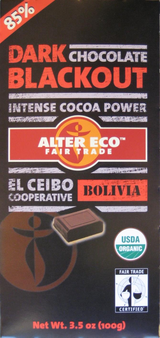 One Golden Ticket: Review: Alter Eco Dark Blackout