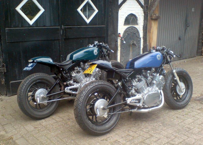 And a sister bike