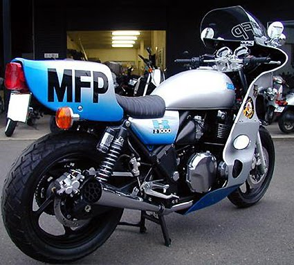 Mad Max Kawasaki KZ1000   Return of the Cafe Racers