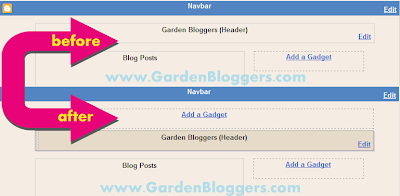 Adding Gadets and Widgets to your blog header