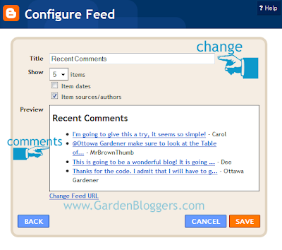 Easy Recent Comments And Posts In Blogger