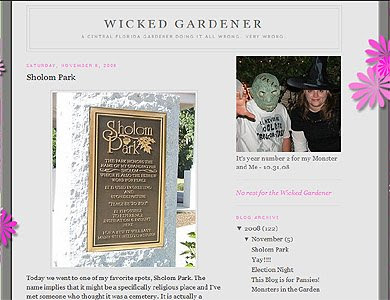 Wicked Gardener, Florida Garden Blog