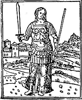 صورة تخيلية للملكة سميراميس