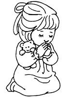 صور تلوين - الصلاة