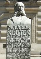 نصب جوليس رويتر في لندن