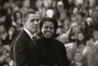 أوباما وزوجتة