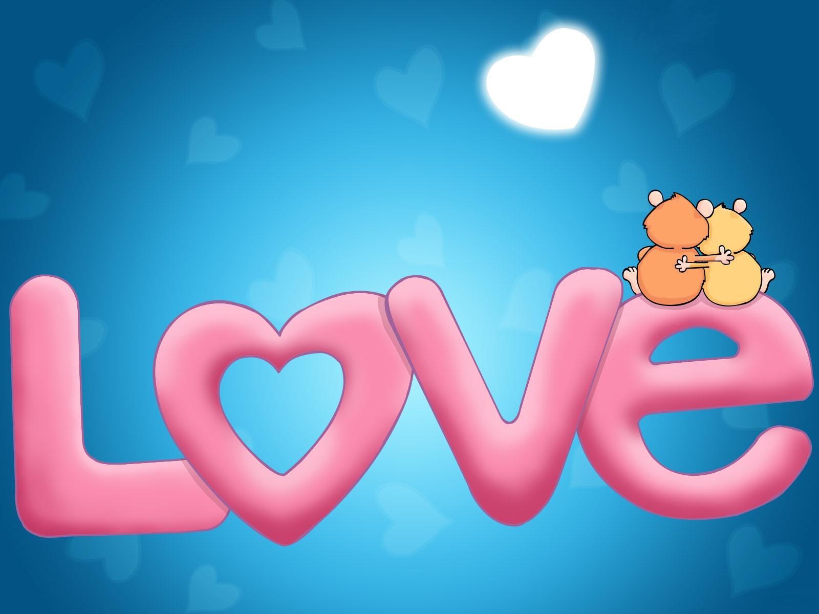 Tarjetas y postales de Amor : Fondo de pantalla LOVE
