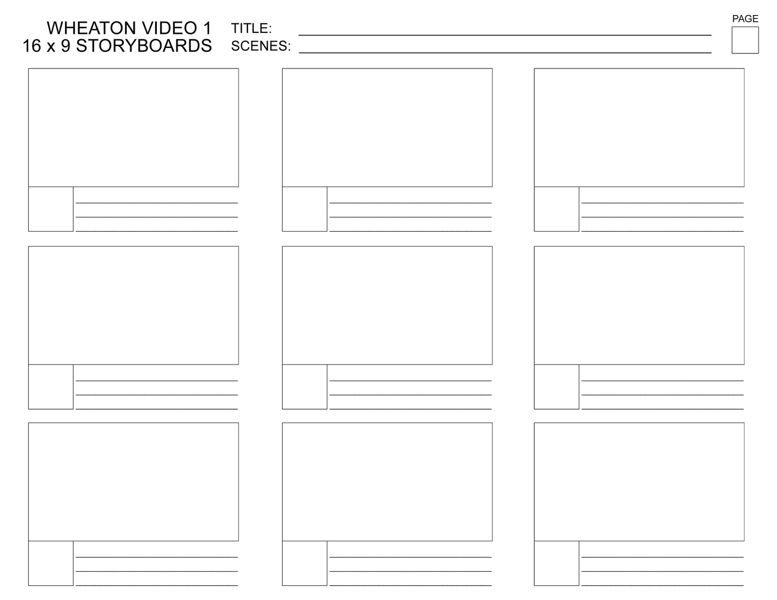 Macbeth Plot Summary Storyboard Template by maz1