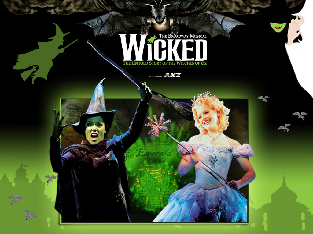 wicked the musical Wicked is a musical with music and lyrics by stephen schwartz and a book by winnie holzman it is based on the gregory maguire novel wicked: the life and times of the wicked witch of the west (1995), a parallel novel of the 1939 film the wizard of oz and l frank baum's classic story the wonderful wizard of oz (1900.