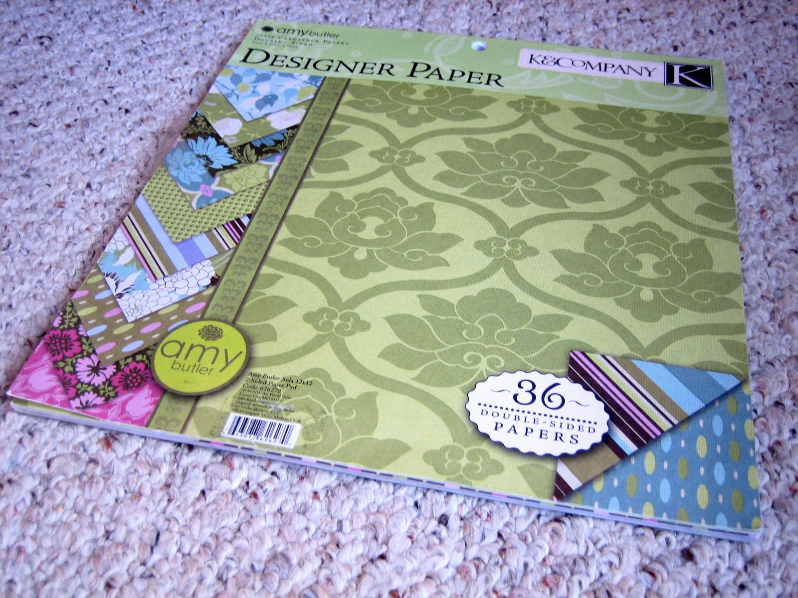 How to scrapbook magazines - Grab Your Scrapbook Paper I Used Amy Butler S Scrapbook Pack So That I Would Have A Bunch Of Designs And Colors That All Coordinate And You Know How I Feel