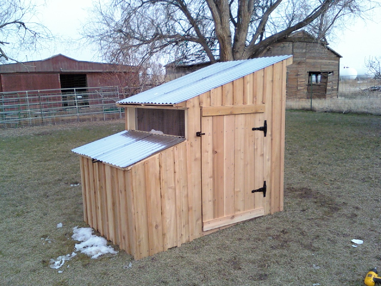 b geisler duck coop finished