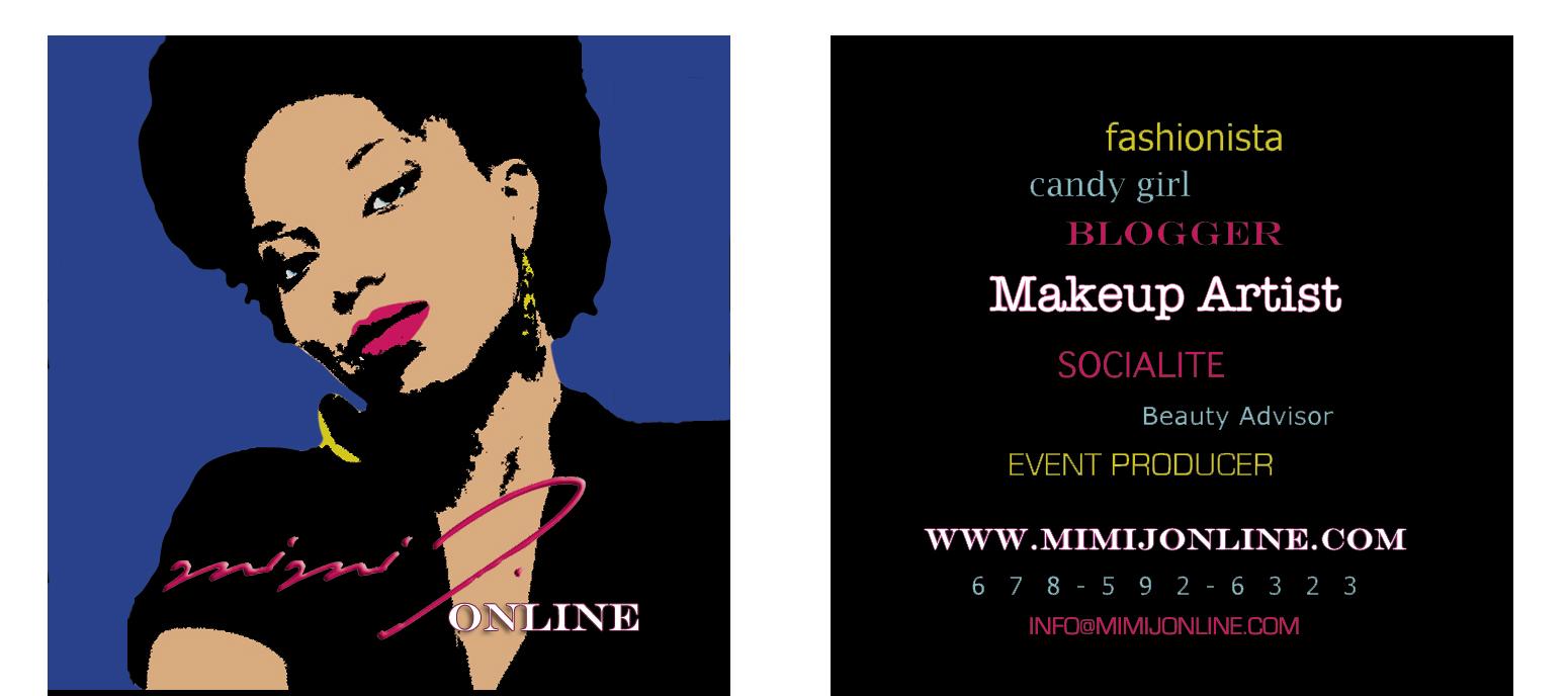 Atlanta Makeup Artist MiMi J Online » Designing on a Dime