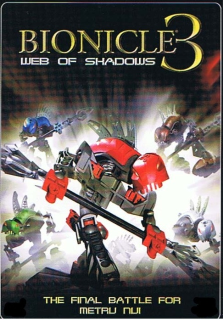 best amp rar movies bionicle 3 web of shadows 2005