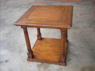 antique wood finishing