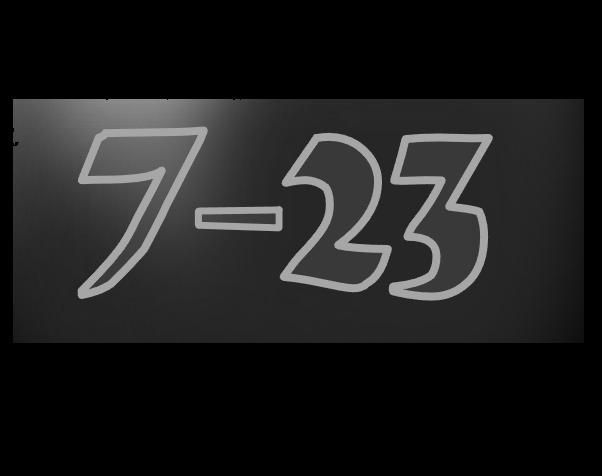 7 -23
