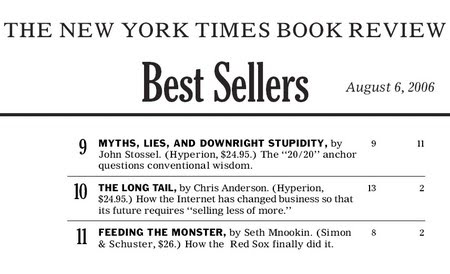 new york times bestseller logo. by publishers in New York