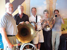The Gumbo Jumbo Dixieland band