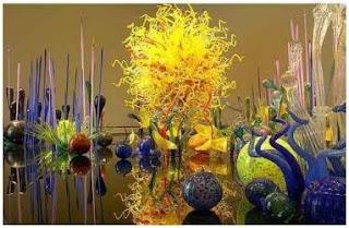 Sculpture sur verre