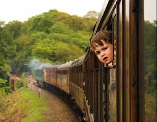 On prend toujours un train