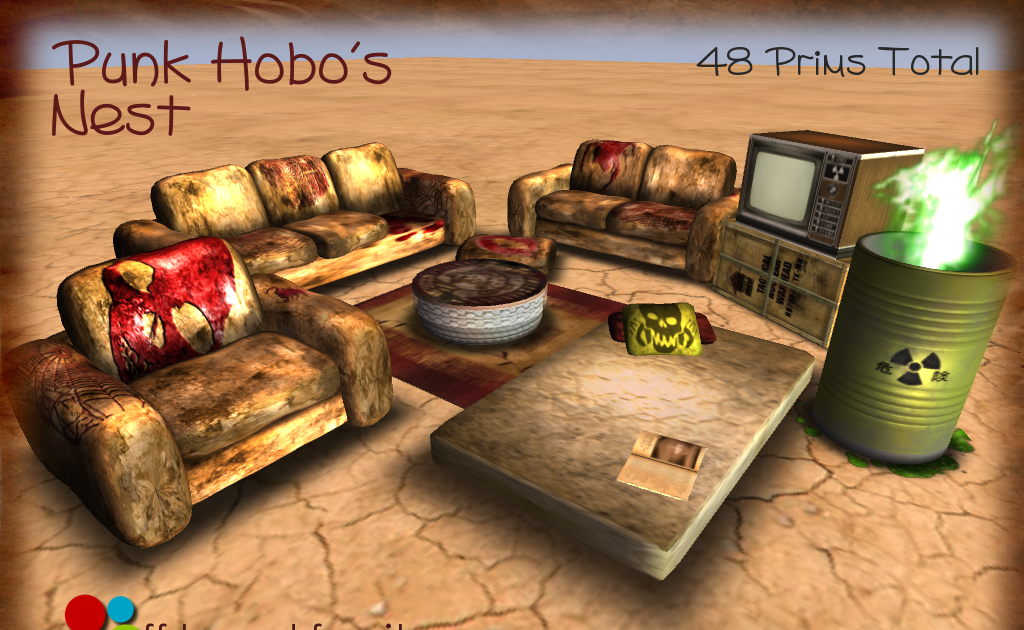 Off Brand Furniture In Second Life   Blogger