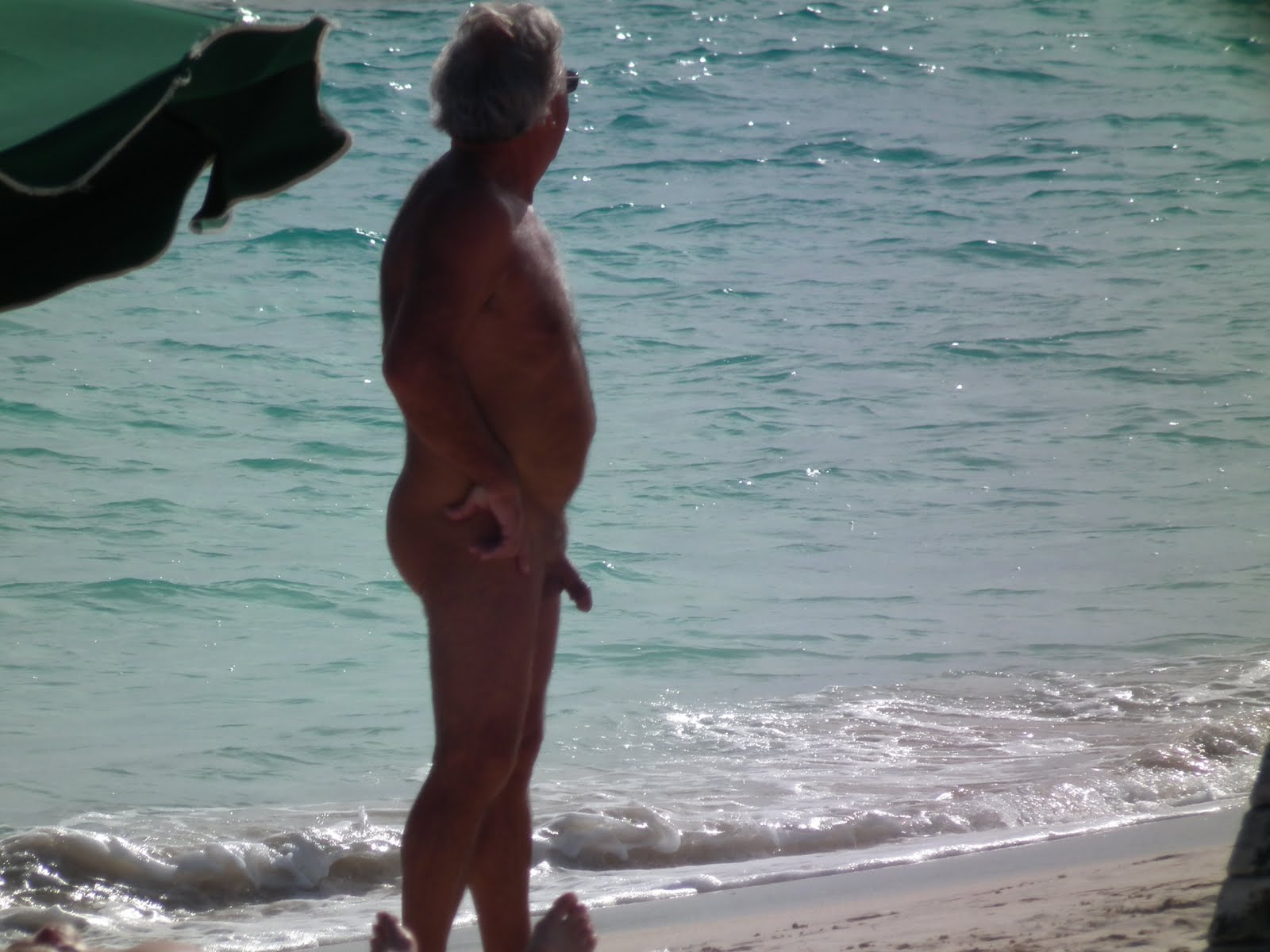 winter2011 pictures st maarten nude beach gerry in there