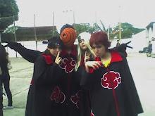 Eu (Itachi), Tobi, Deidara e Sasori