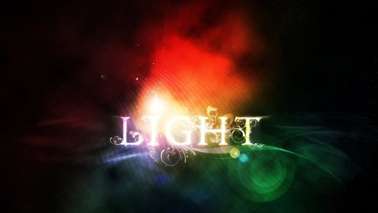 Light typography PSD