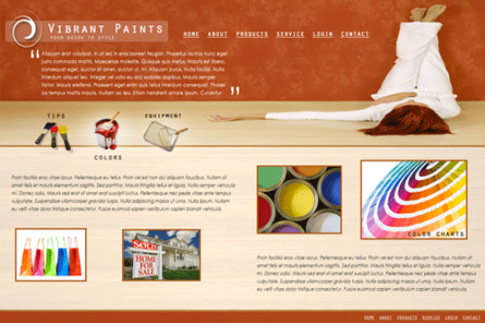 vibrant-paints-PSD-template