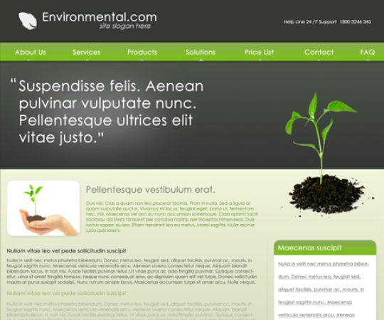 Environmental PSD Template