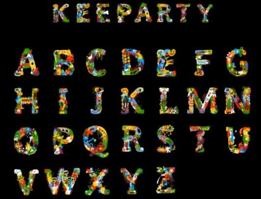 Keeparty font