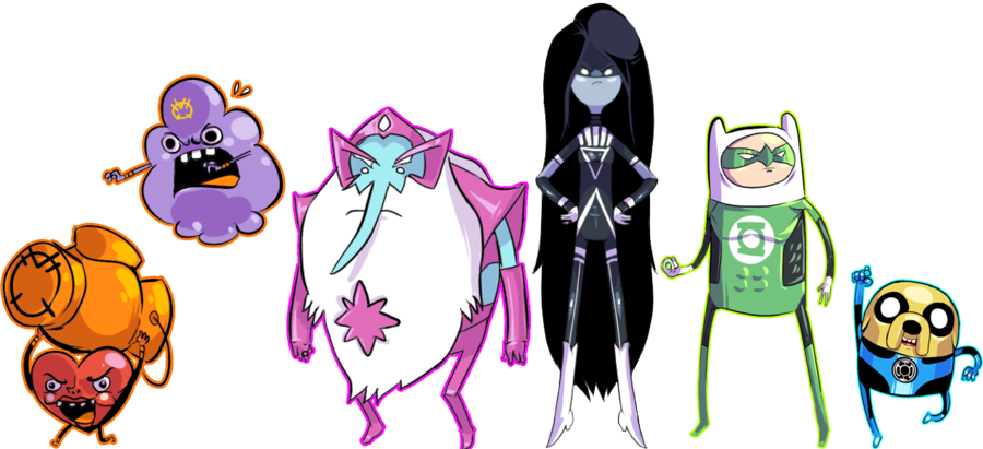 Adventure Time Superheroes Adventure Time Corps Are