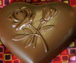 Solid Milk Chocolate Heart 4 oz