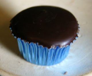 Fig in a Dark Chocolate Cup