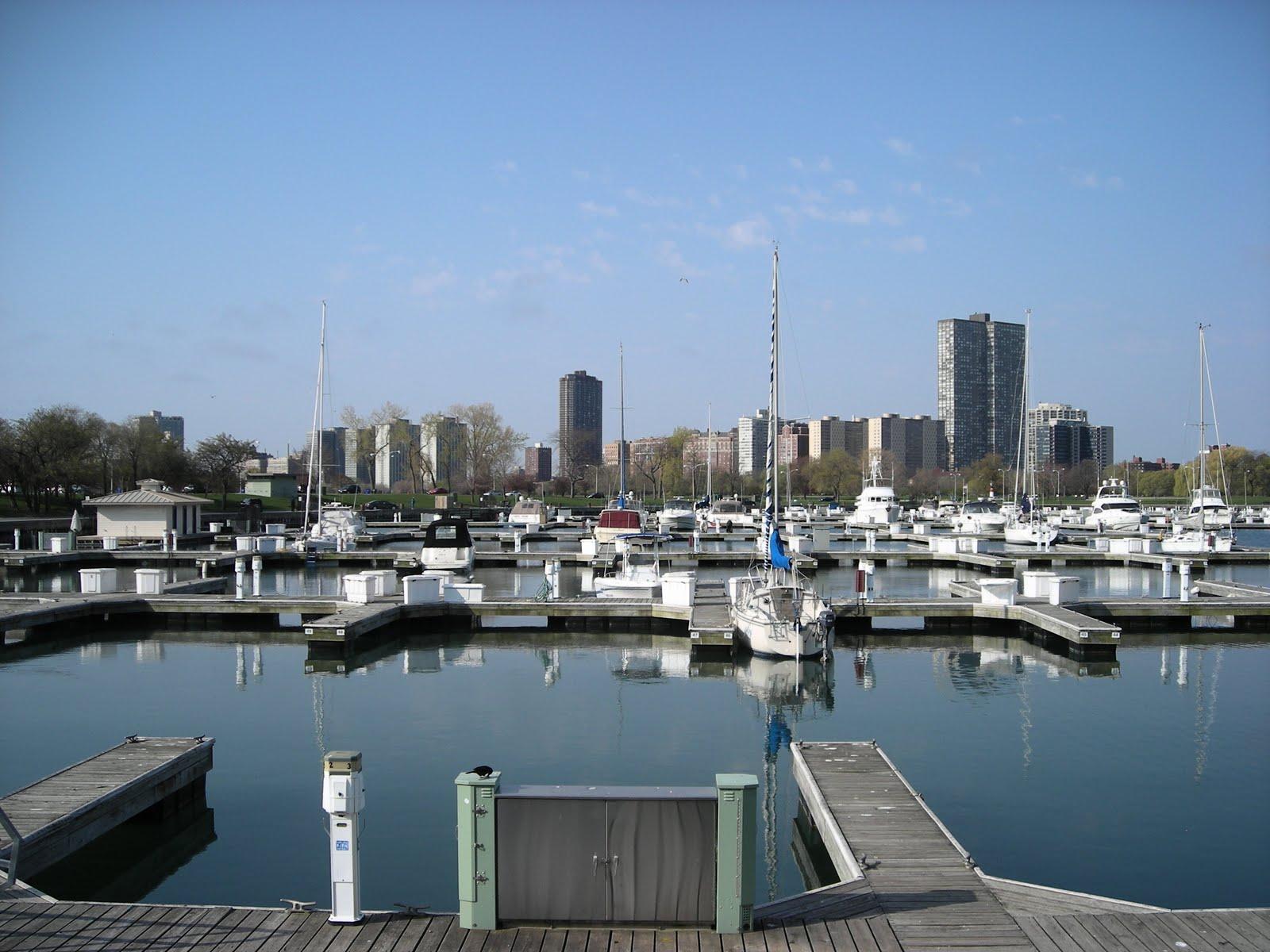 Chicago landscape montrose harbor for Chicago landscape
