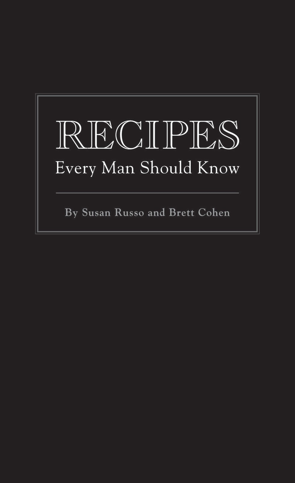 meals every man should know how to cook