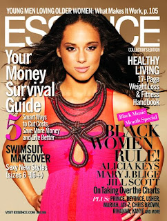 Alicia Keys Essence June 2008 Covergirl