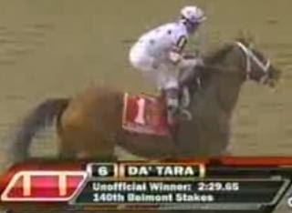 Belmont Stakes 2008 Winner is Da' Tara