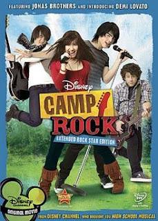 Disney's Camp Rock Stars Jonas Brothers and Demi Lovato