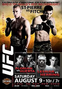 UFC 87 Results Brock Lesnar vs Heath Herring Video