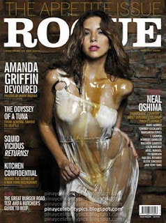 Amanda Griffin - Rogue Magazine August 2008 Covergirl