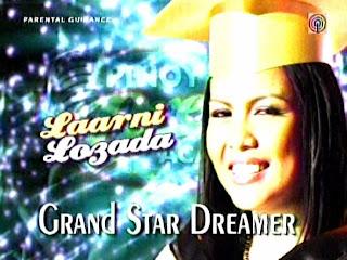 PDA 2 Grand Star Dreamer Laarni Losada