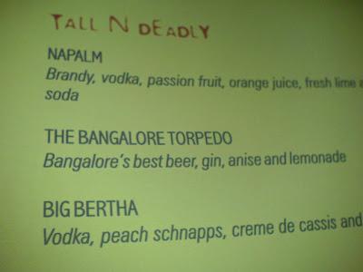 Bangalore view the bangalore torpedo for 13th floor bangalore menu