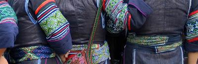 black hmong sapa vietnam indigo