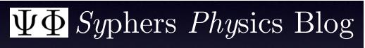 SyPhy -- Syphers on Physics