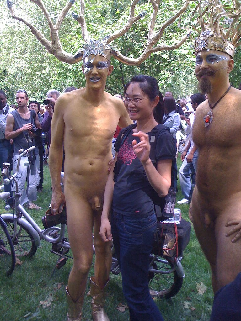 world of cfnm world bike naked