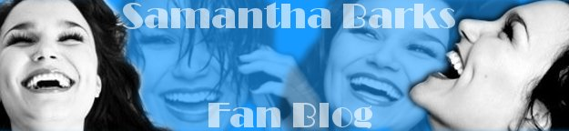 Samantha Barks Fan Blog