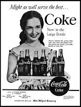 GLORIA ROMERO and Coca-cola (1950s)