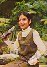 NORA AUNOR and Coca-cola (1971)